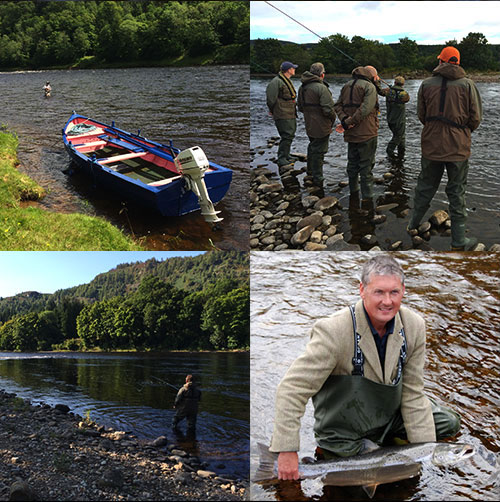 salmon fishing experiences on Scotland's finest salmon fishing venues