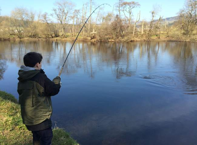 Catching A River Tay Spring Salmon