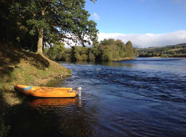 The Perfect Spring Scenery Of The River Tay