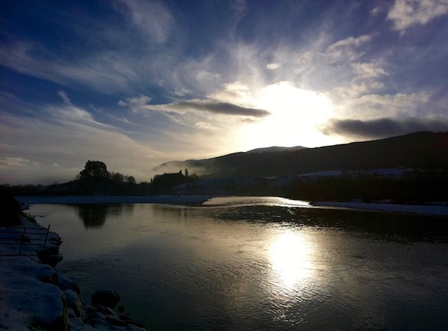 Winter On The River Tay