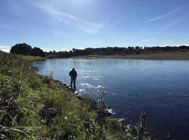 Perfect Salmon Fly Fishing Water