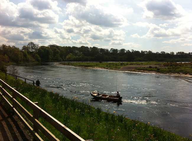 Fishing The Scottish Rivers For Salmon