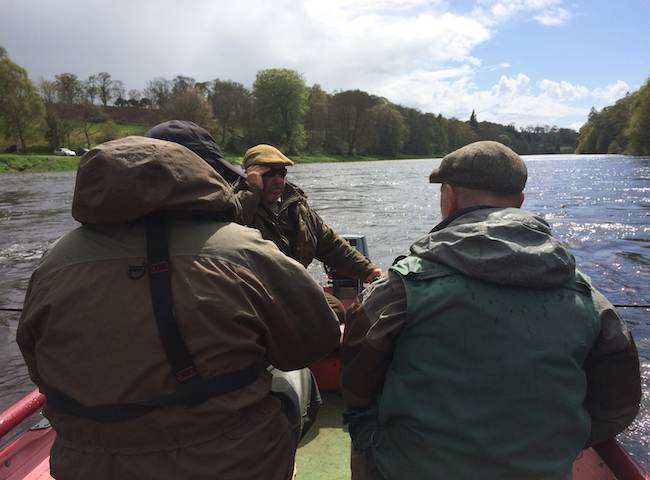 Fishing The Lower River Tay