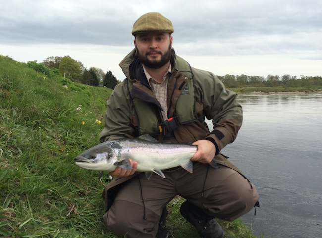 Fishing For A Spring Salmon In Scotland