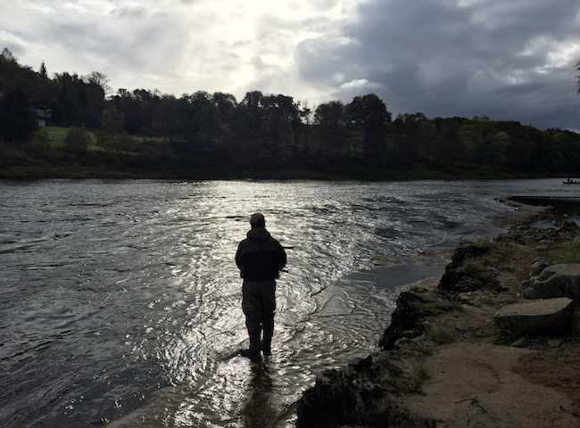 Learning The Art Of Scottish Salmon Fishing