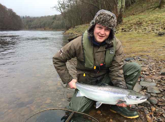 Going Salmon Fishing On The River Tay