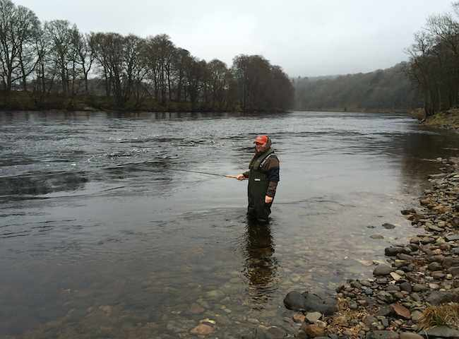 Fishing Scottish Salmon Rivers In Spring