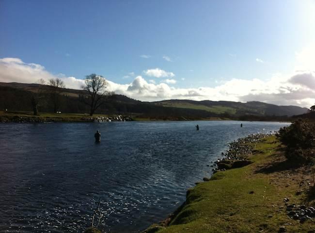 Salmon Fishing Tuition In Scotland