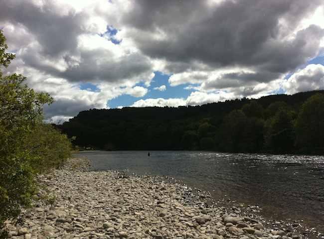 River Tummel Salmon Fishing Beats