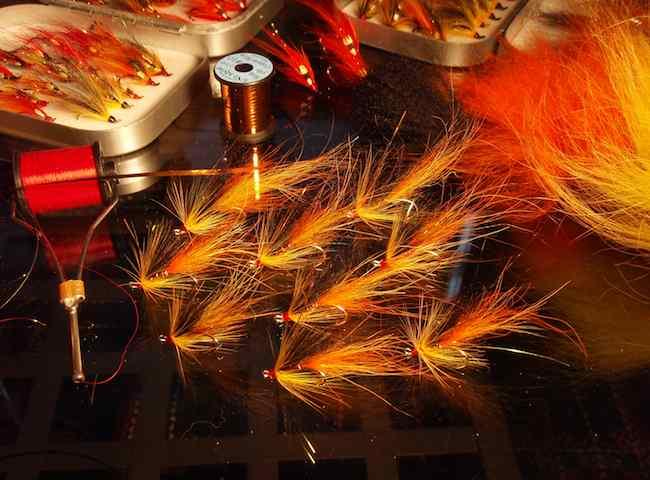 Salmon Fishing Flies