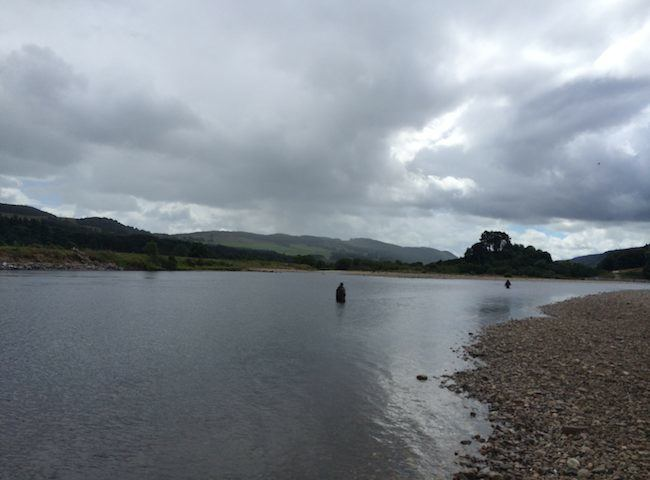 The Middle River Tay