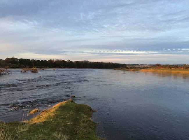 Big Water On The River Tay