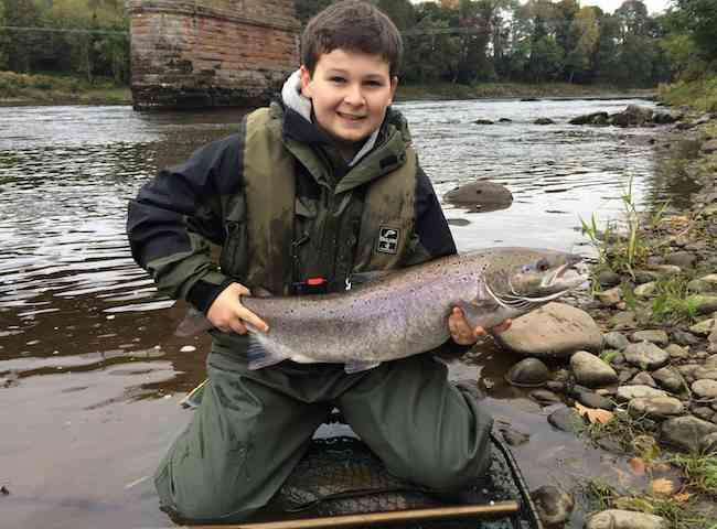 Fishing The Tay At Cargill