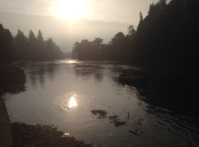 Dawn On The Scottih Salmon Rivers