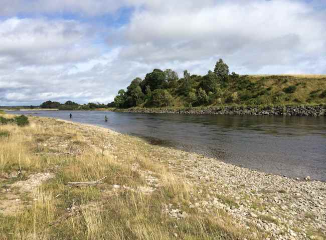 Fishing On The River Tay