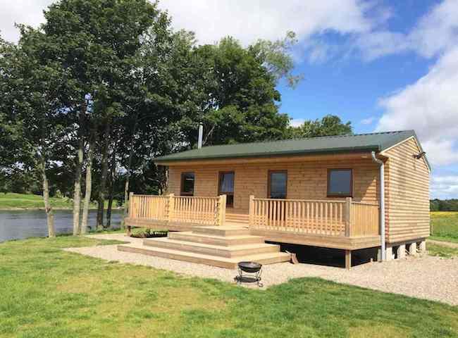 Luxury Fishing Huts On The Scottish Rivers