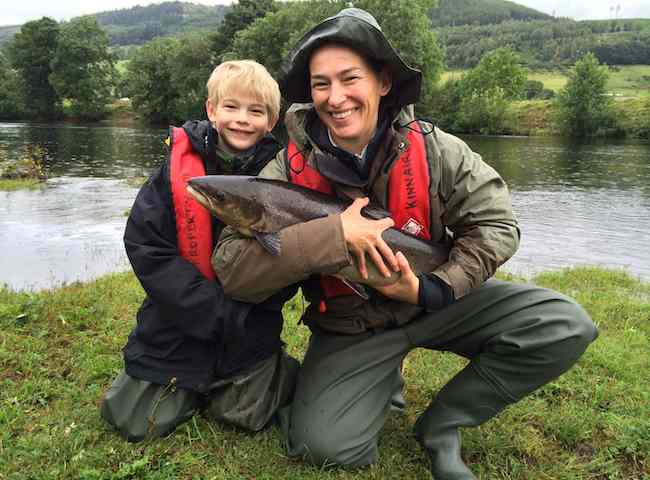 Catch Your First Scottish Salmon
