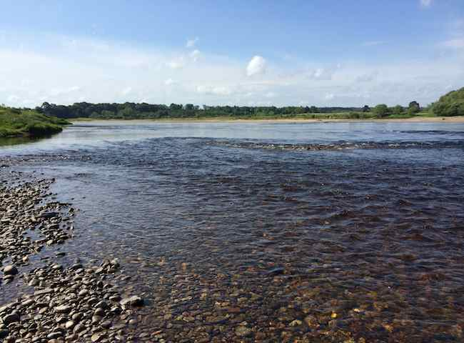 The Salmon Fishing Beats Of Scotland
