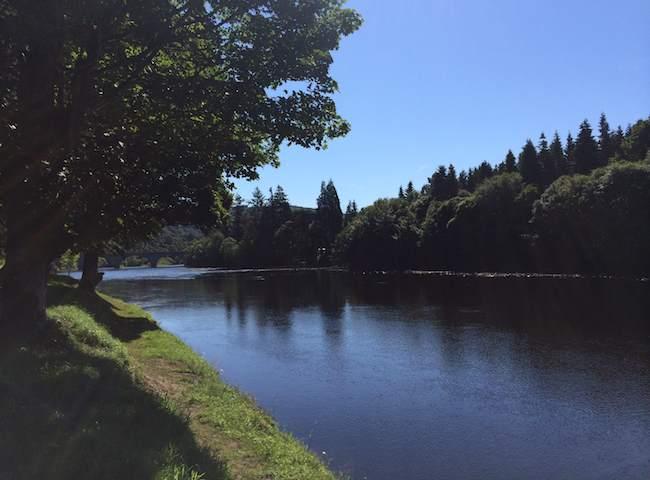 River Tay Salmon Fishing At Dunkeld