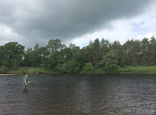 Fly Fishers On Scottish Salmon Rivers
