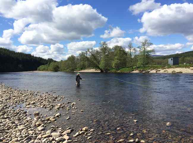Salmon Fishing Vacations In Scotland