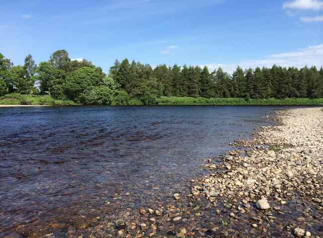 River Salmon Fishing In Scotland