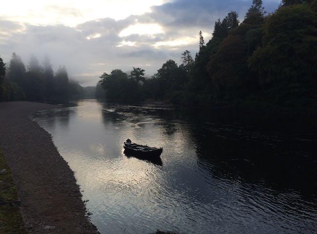 Dawn On The Salmon River