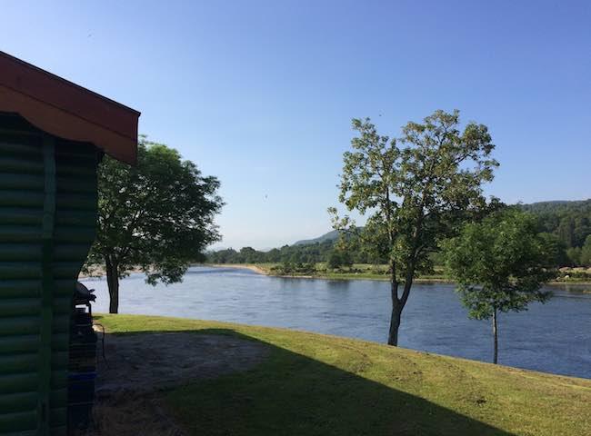 River Tay Fishing Huts