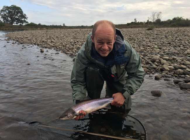 Autumn Corporate Salmon Fishing Days