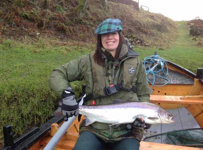 Salmon Fishing For Women