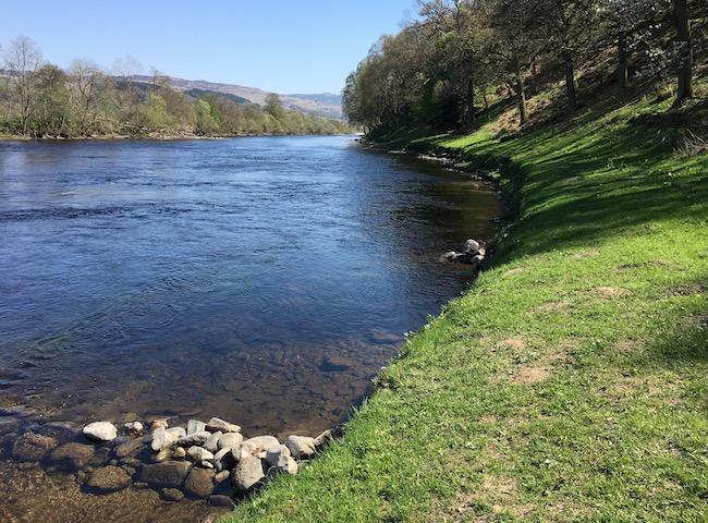 The Riverbanks Of Scotland