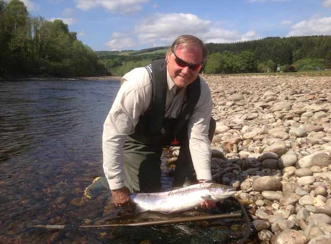Catching An Atlantic Salmon