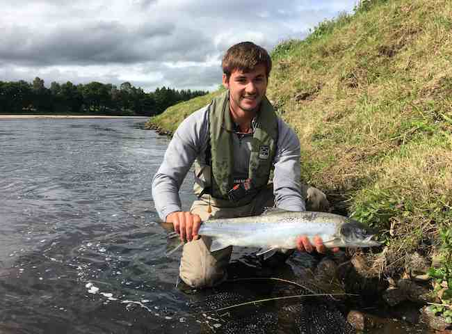 Perfect Summer Salmon Fishing