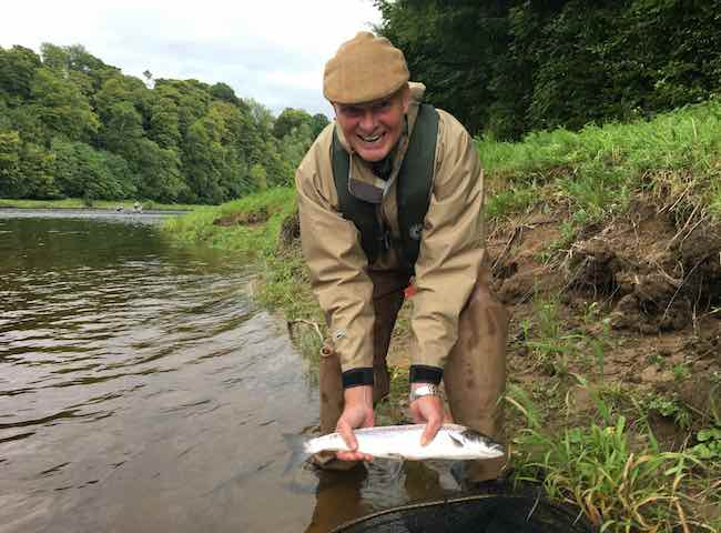 Catching Your First Tay Salmon