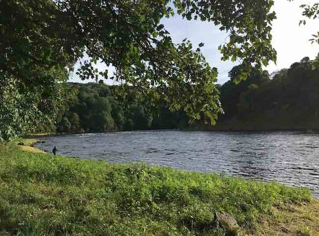 River Tay Fishing Scenery