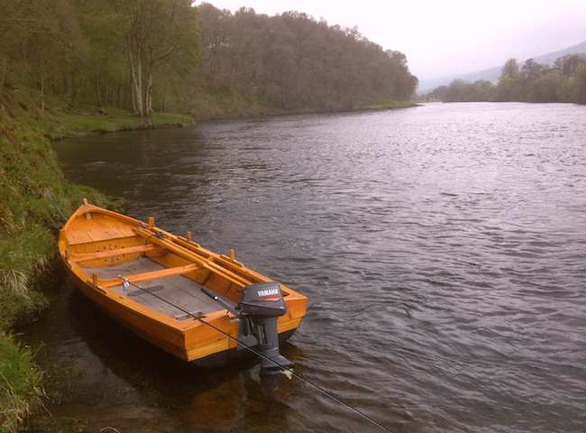 Traditional Tay Salmon Boats