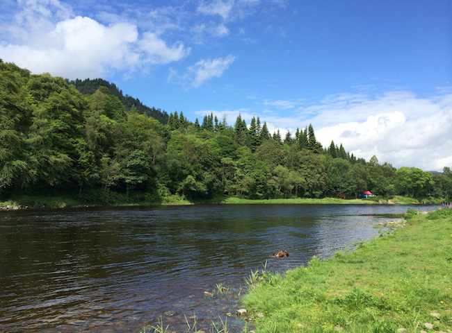 The Stunning Scottish Riverbanks