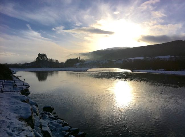 Merry Christmas From The River Tay