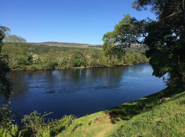 Perfect Scottish River Settings