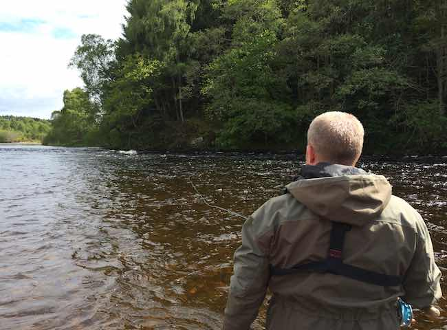 Perfect Salmon Fly Fishing Days