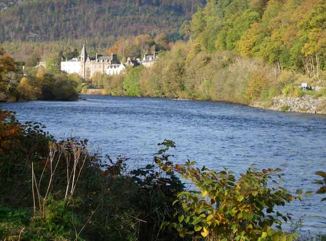 The Perthshire Town Of Dunkeld