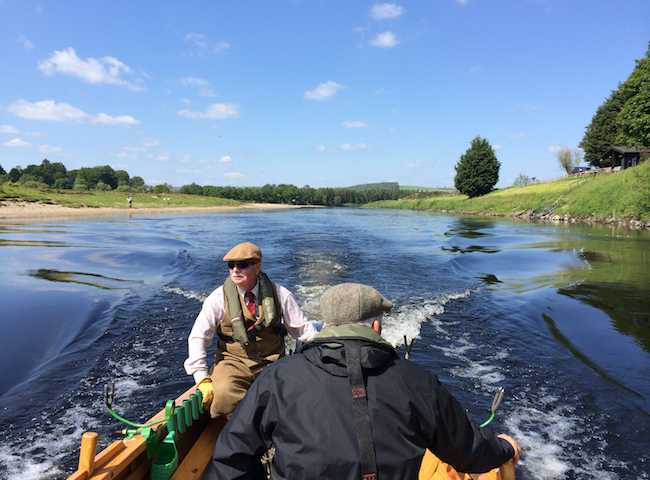 A River Tay Fishing Scene