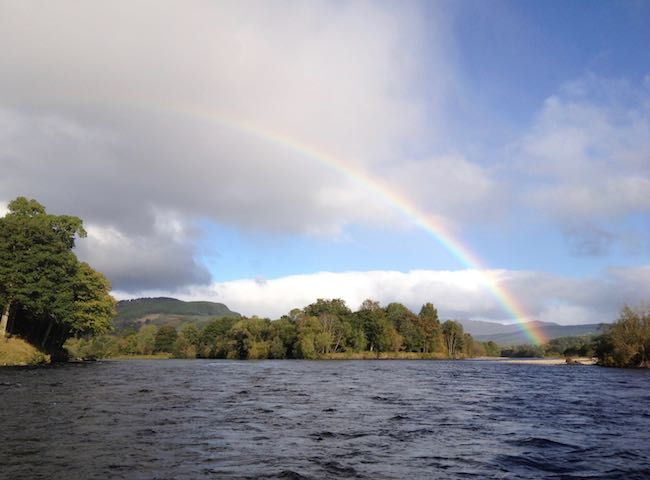 Rainbows On The River Tay
