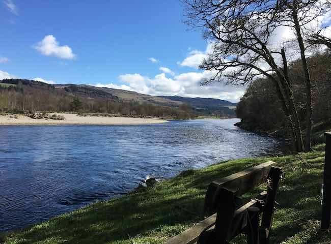 Watching The River Tay