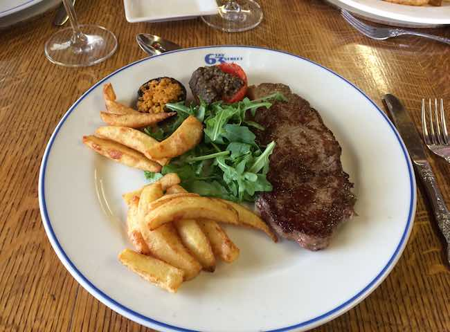 Salmon River Steak & Chips