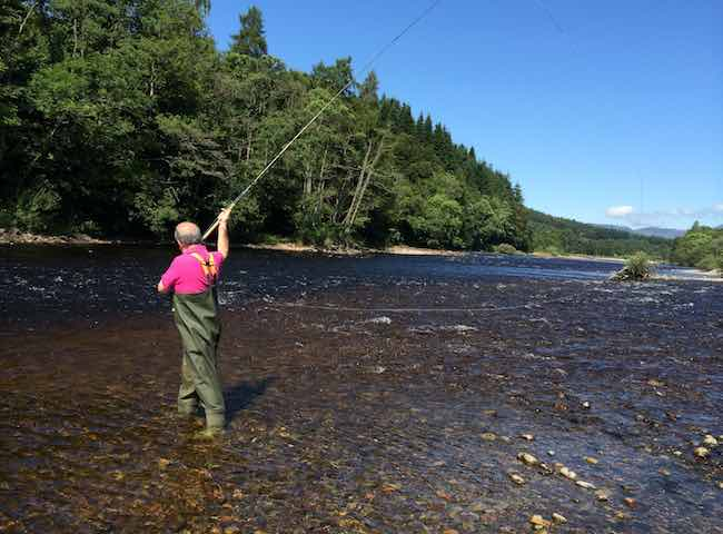 Learning To Fish The Tay