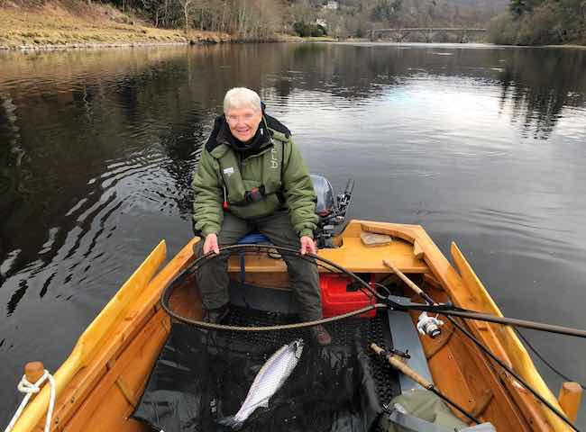 Dunkeld House Boat Fishing