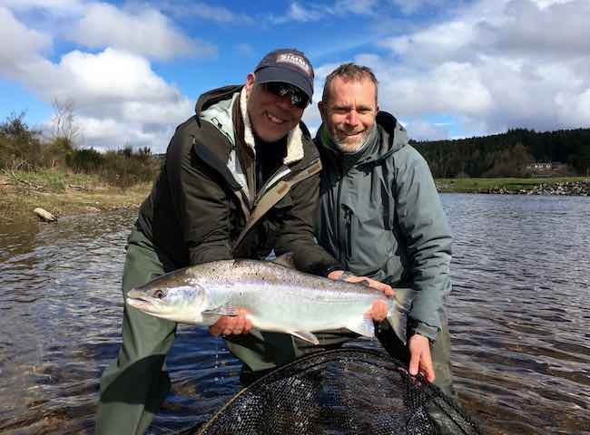 River Tay Salmon Fishing Brilliance