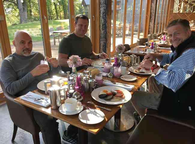 Salmon Fishing Breakfasts