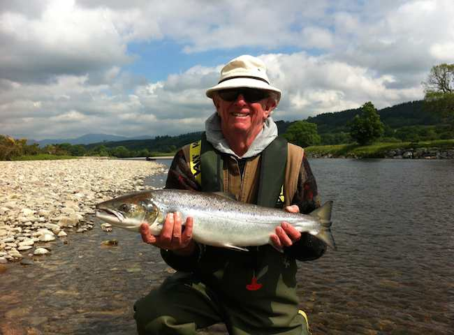 The Perfect Salmon Fishing Day